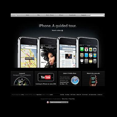 เว็บ Apple.com (2007)